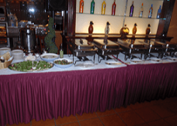 buffet table image