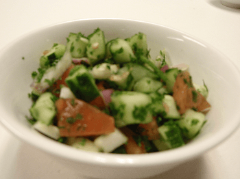 Shirazi Salad 8oz